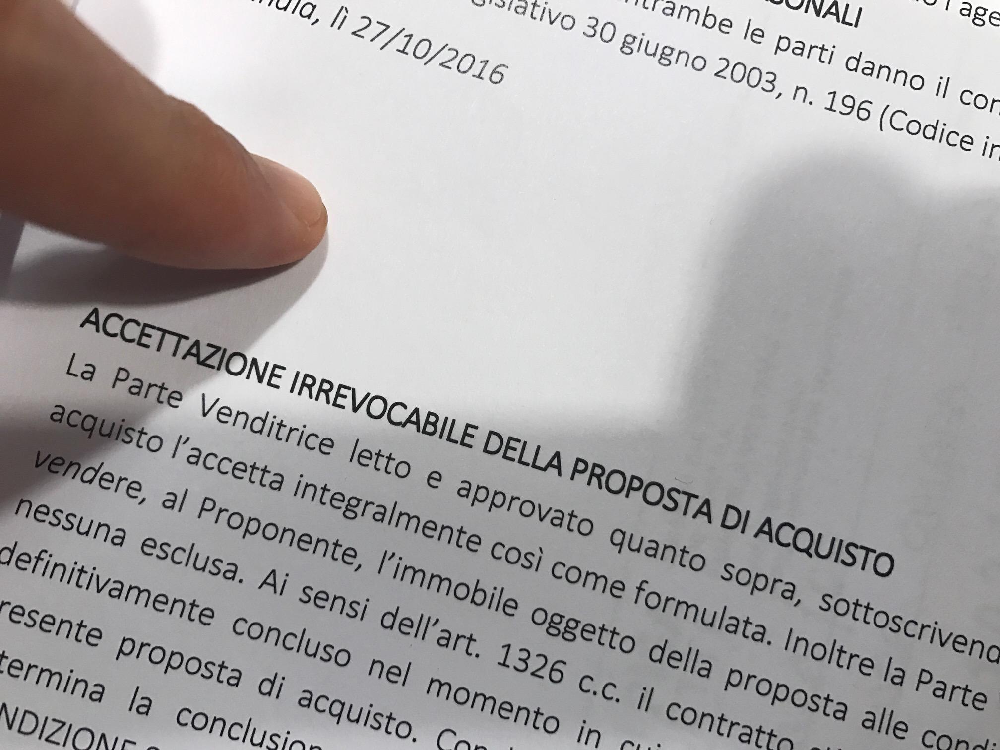 Collegamento tra preliminare di vendita immobiliare e contratto di comodato forum iuris - Proposta di acquisto immobile ...