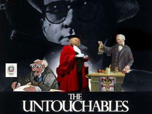magistrati intoccabili